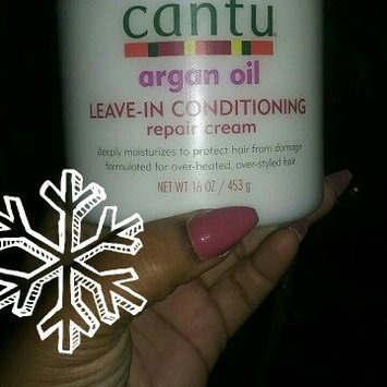 Photo of Cantu Argan Oil Leave In Conditioning Repair Cream uploaded by Nailah B.