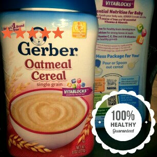 Photo of Gerber® Oatmeal Cereal 8 oz. Canister uploaded by Jessica H.