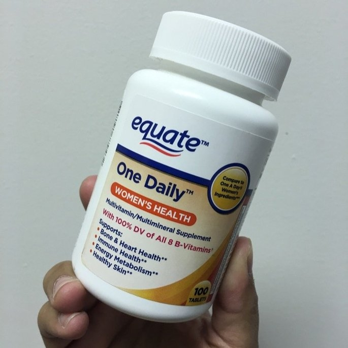 Equate One Daily Women's Multivitamin Multimineral Supplement uploaded by Karla  I.