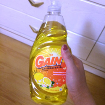 Gain® Ultra Antibacterial Lemon Zest Dishwashing Liquid 28 fl. oz. Plastic Bottle uploaded by Annie L.