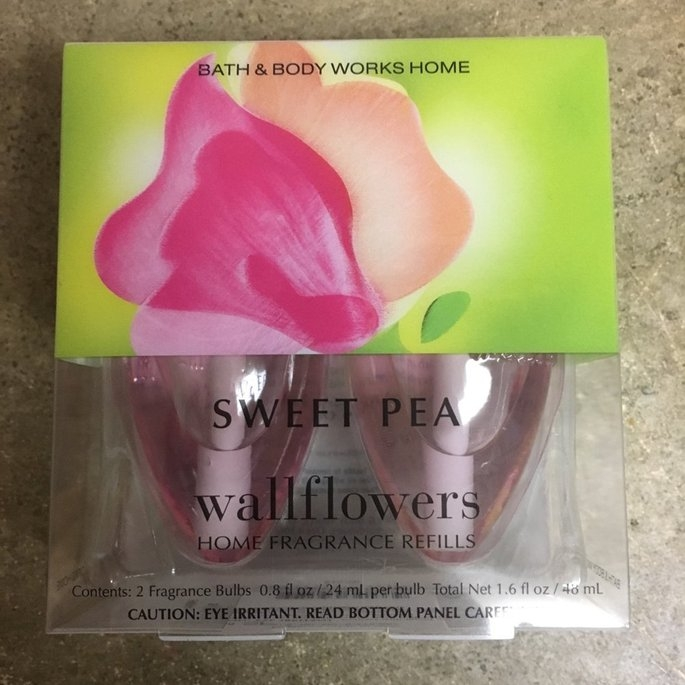 Wallflowers Home Fragrance Refills Wallflowers 2-pack Refills SWEET PEA Fragrance Bulbs (1.6 Fl Oz. Total) uploaded by Maria Q.