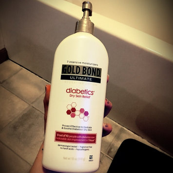 Gold Bond Ultimate Diabetics' Dry Skin Relief Hydrating Lotion, 18 oz uploaded by Elizabeth  H.