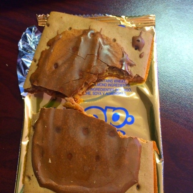Kellogg's Pop-Tarts Gone Nutty Frosted Chocolate Peanut Butter uploaded by Stephanie B.