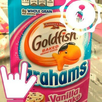 Pepperidge Farm Goldfish Grahams Vanilla Cupcake Graham Snacks uploaded by Alissa W.