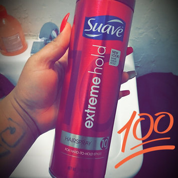 Photo of Suave Extreme Hold 10 Hairspray uploaded by Nina O.