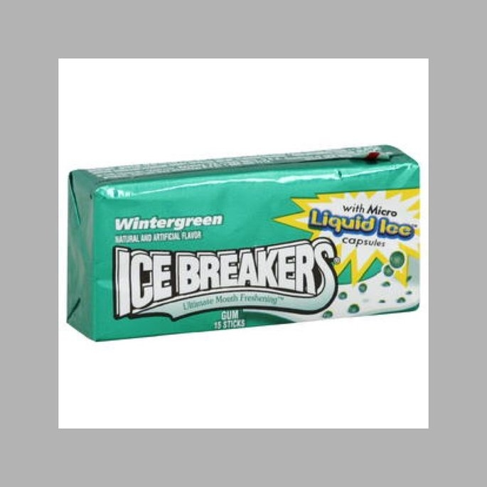 Ice Breakers Gum, Wintergreen, 15 sticks uploaded by Hannah C.
