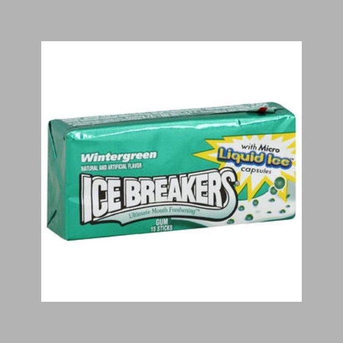 Ice Breakers Gum, Wintergreen, 15 sticks uploaded by Hannah C.