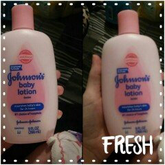 Johnson's Baby Lotion Vanilla Oatmeal uploaded by Amber G.