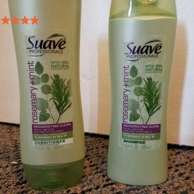Suave Professionals Rosemary + Mint Shampoo uploaded by Ashleigh M.