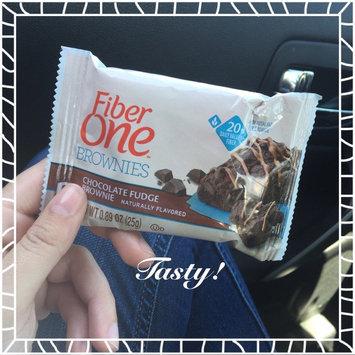 Photo of Fiber One 90 Calorie Chocolate Fudge Brownie uploaded by Gabriella A.