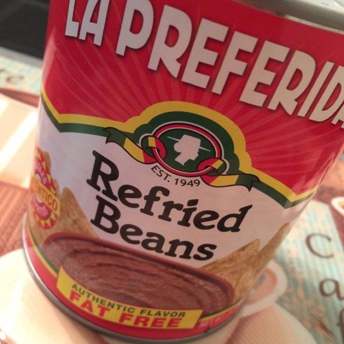 La Preferida Refried Beans Fat Free uploaded by Wendy C.