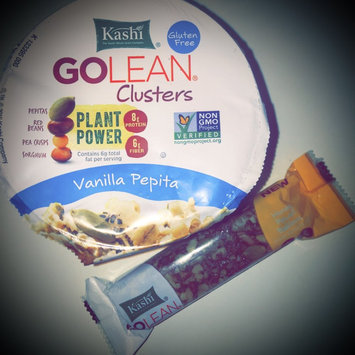 Kashi® Golean® Clusters Vanilla Pepita Cereal 1.75 oz. Cup uploaded by Rosemarie B.