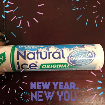 Photo of Natural Ice Medicated Lip Protectant/Sunscreen SPF 15 uploaded by Sylvia V.