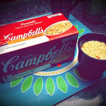 Photo of Campbell's® Fresh-Brewed Soup Homestyle Chicken Broth & Noodle Soup Mix Coffee Podss uploaded by Farrah W.