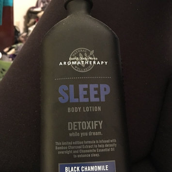 Photo of Bath Body Works Bath & Body Works Aromatherapy Lotion Black Chamomile uploaded by Brandi S.
