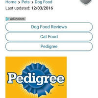 Pedigree® Chunky Beef, Bacon & Cheese Dog Food Dinner uploaded by Renae B.