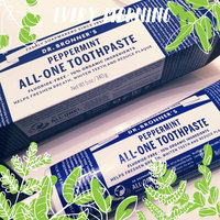 Toothpaste Peppermint Dr. Bronner's 5 oz Paste uploaded by Veronica M.