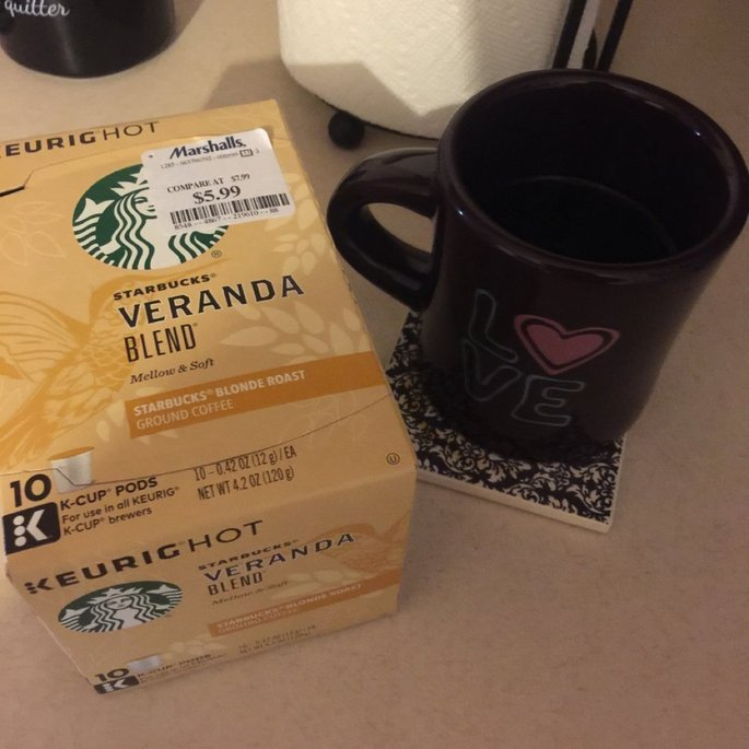 Starbucks Coffee Veranda Blend K-Cups uploaded by Margret S.
