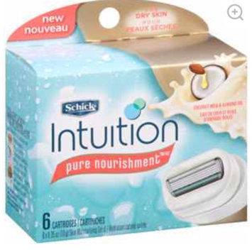 Photo of Schick Intuition Pure Nourishment Skin Moisturizing Solid Razor Cartridges uploaded by Bianca R.