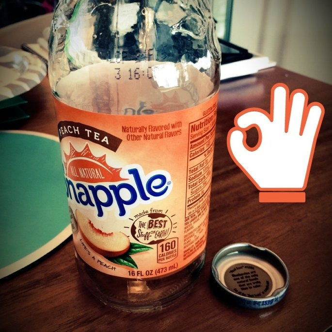 Snapple All Natural Peach Tea uploaded by Aydin A.