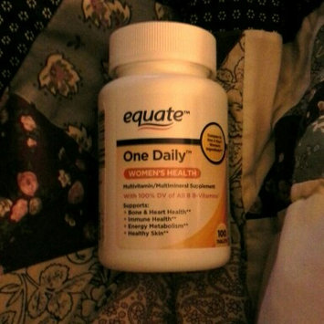 Equate One Daily Women's Multivitamin Multimineral Supplement uploaded by Mary D.