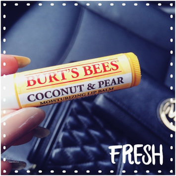 Photo of Burt's Bees Coconut & Pear Lip Balm uploaded by Julie N.