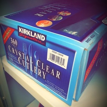 Kirkland Signature Crystal Clear Cutlery - 360 ct [] uploaded by Luis M.
