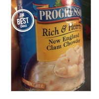 Progresso Rich & Hearty New England Clam Chowder Soup uploaded by Sophia A.