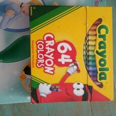Crayola Crayons  64ct uploaded by Crystal S.