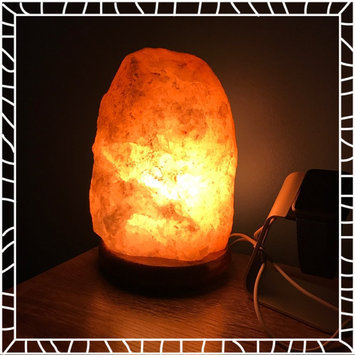 WBM # 1004 Natural Air Purifying Himalayan Salt Lamp With Neem Wood uploaded by Garett S.