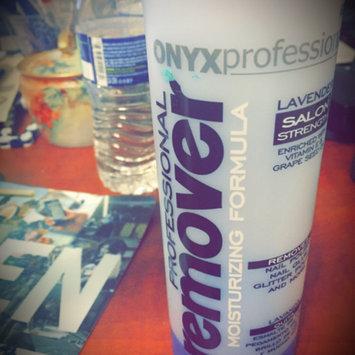 Photo of ONYX Professional Moisturizing Formula Nail Polish Remover uploaded by Danye L.