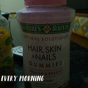 Nature's Bounty Optimal Solutions Hair, Skin and Nails Gummies - 220 Count uploaded by Diana T.
