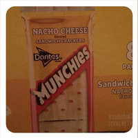Munchies Doritos Nacho Cheese Sandwich Crackers uploaded by Patricia S.
