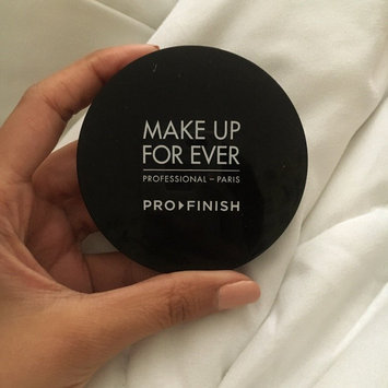 Photo of MAKE UP FOR EVER Pro Finish Multi-Use Powder Foundation uploaded by Rebecca N.