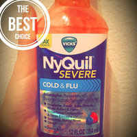 Vicks NyQuil Severe Cold & Flu Nighttime Relief Berry Flavor uploaded by Nancy C.