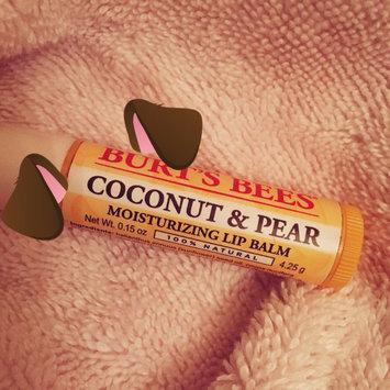 Photo of Burt's Bees Coconut & Pear Lip Balm uploaded by Kharine C.