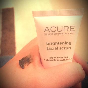 Acure Organics Brightening Facial Scrub uploaded by Alexandra B.