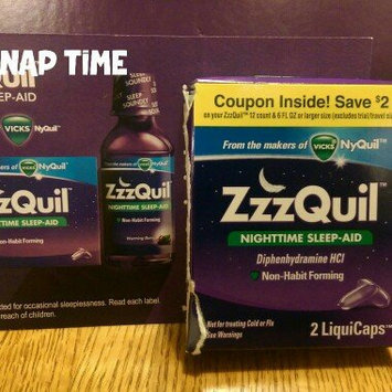 ZzzQuil Nighttime Sleep-Aid Liquid, Warming Berry uploaded by Nicole G.