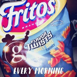 Photo of Fritos® FLAVOR TWISTS® Honey BBQ Flavored Corn Chips uploaded by Victoria c.