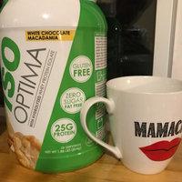 Nutrakey Iso Optima, White Chocolate Macadamia, 2.3 lbs uploaded by Maria M.
