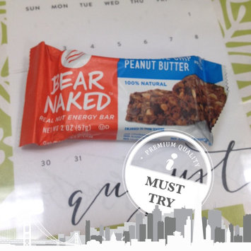 Photo of Bear Naked Real Nut Energy Bar Chocolate Chip Peanut Butter uploaded by Gemma R.