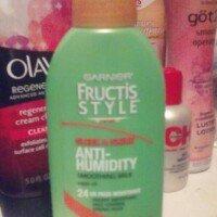 Garnier Fructis Style Sleek & Shine Anti-Humidity Smoothing Milk uploaded by Beverly R.