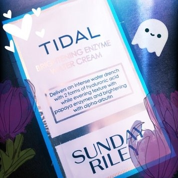 Sunday Riley Tidal Brightening Enzyme Water Cream uploaded by Chelsea C.