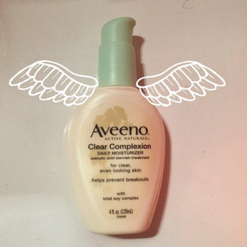 Photo of Aveeno® Clear Complexion Daily Moisturizer uploaded by Sofía B.