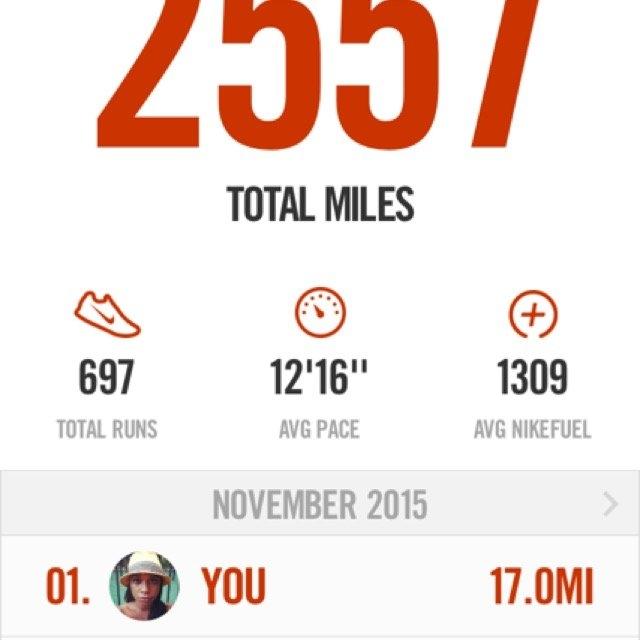 Nike Running App uploaded by Gueselle M.