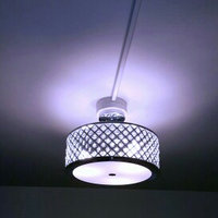 Home Decorators Collection Pendant Lights 3-Light Chrome Convertible Flushmount/Pendant 24894-HBU uploaded by Jamillah C.