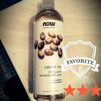Photo of NOW Foods Solutions Castor Oil - 16 fl oz uploaded by Phouvanh L.