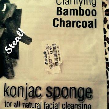 Photo of Konjac Sponge Works Bamboo Charcoal Facial Sponge uploaded by Da Lady C. J.