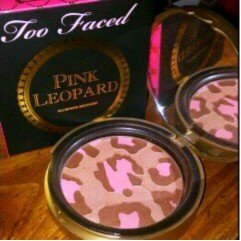 Too Faced Pink Leopard Blushing Bronzer uploaded by Jessica B.