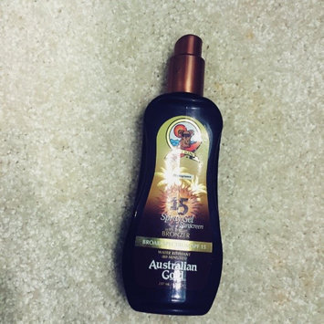 Australian Gold Spray Gel with Instant Bronzer SPF 15 uploaded by morgan r.